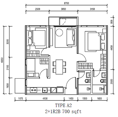 Altris_Residence_TypeB-2R2B