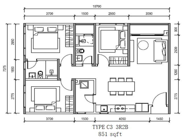 Altris_Residence_TypeC3-3R2B